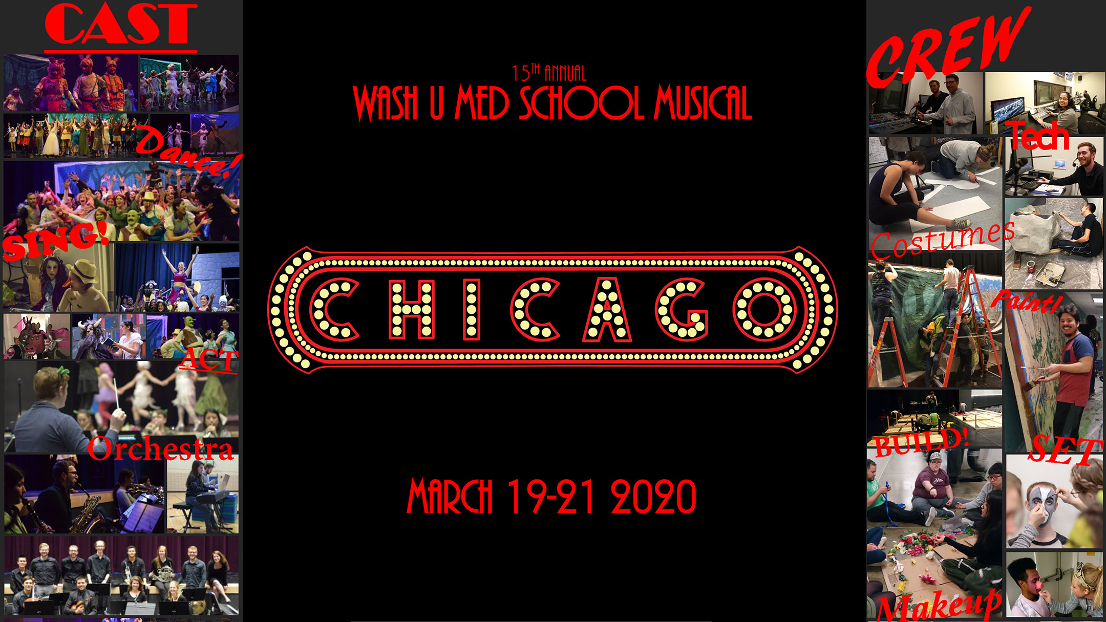 Chicago Student Musical Advertisement